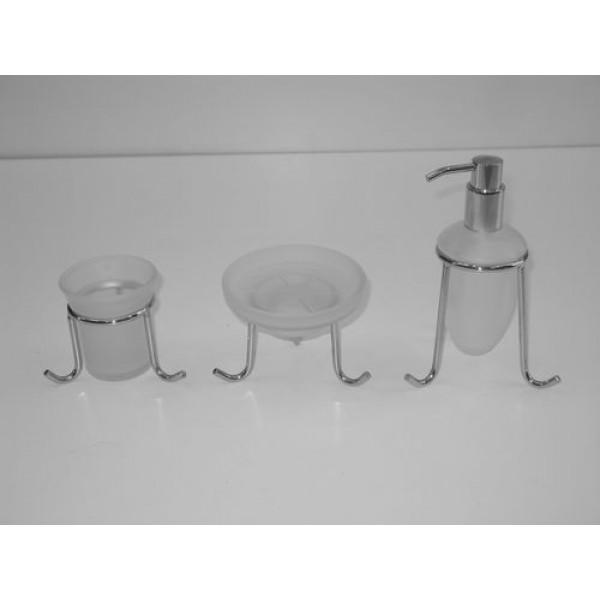 Ποτηροθήκη - σαπουνοθήκη - ντισπένσερ  πάγκου